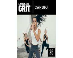 [Hot Sale]2018 Q3 Routines GRIT Cardio 26 DVD+CD + waveform graph