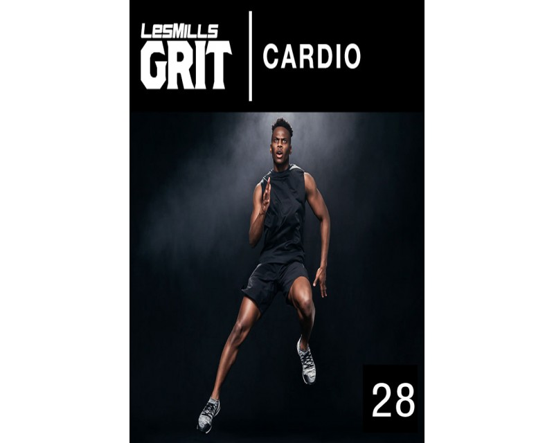 2019 Q1 Routines GRIT Cardio 28 DVD+CD + waveform graph