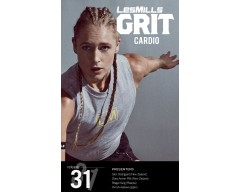 Les Mills GRIT Cardio 31 New Release CA31 DVD, CD & Note