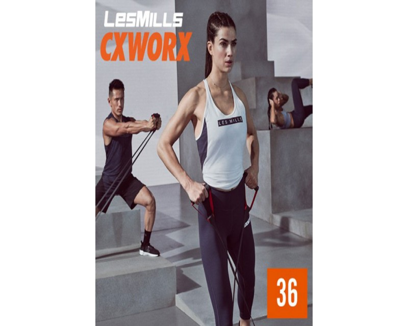 [Hot Sale]2019 Q3 LesMills Routines CX30 36 DVD + CD + NOTES