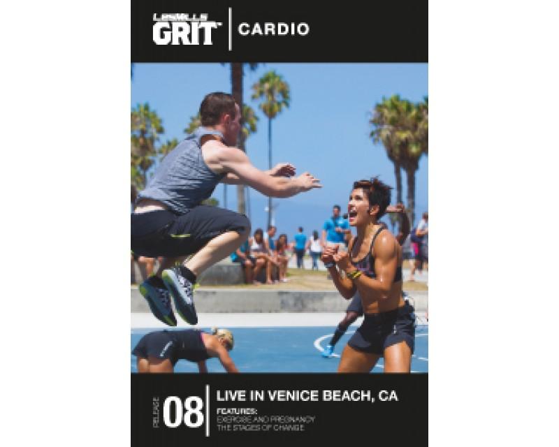 GRIT Cardio 08 DVD+CD + waveform graph