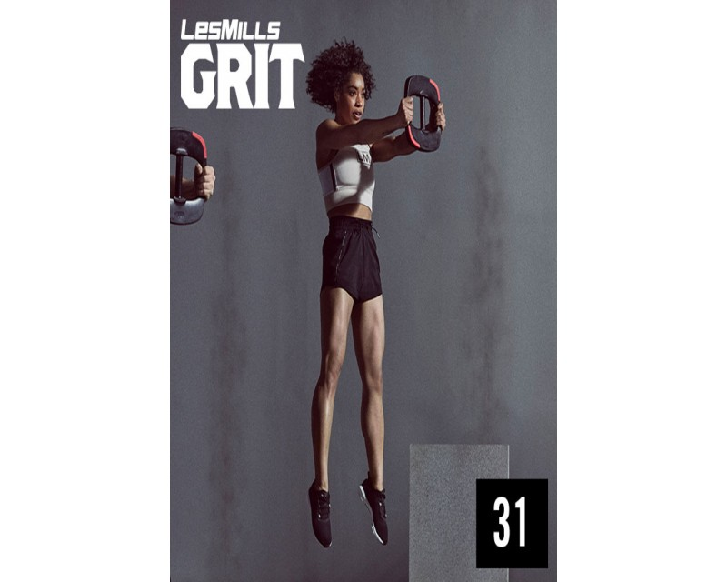 Les Mills GRIT Strength 31 New Release ST31 DVD, CD & Note