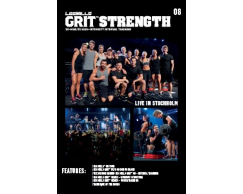 GRIT Strength 08 DVD + CD