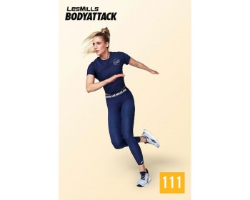 [Hot Sale]LesMills Q1 2021 BODY ATTACK 111 releases New Release DVD, CD & Notes