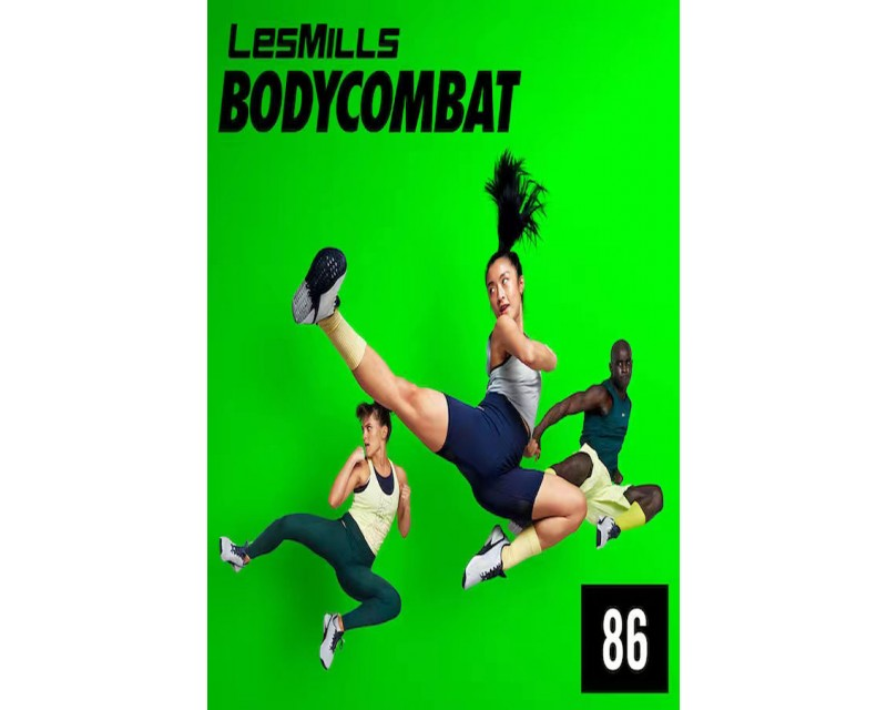 [Hot Sale]Les Mills Q1 2021 BODY COMBAT 86 releases New Release DVD, CD & Notes