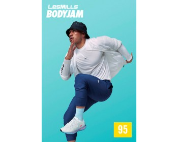 [HotSale]Les Mills Q1 2021 Body Jam 95 New Release BJ95 DVD, CD & Notes