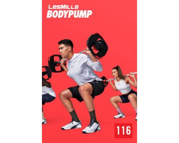 [Hot Sale]LesMills Q1 2021 Routines BODY PUMP 116 releases New Release DVD, CD & Notes