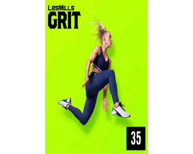 [Hot Sale]Les Mills Q1 2021 GRIT STRENGTH 35 releases New Release ST35 DVD, CD & Notes