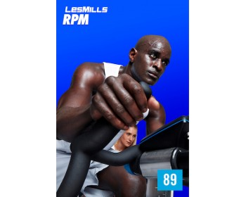 [Hot Sale]LesMills Q1 2021 Routines RPM 89 releases RPM 89 DVD, CD & Notes