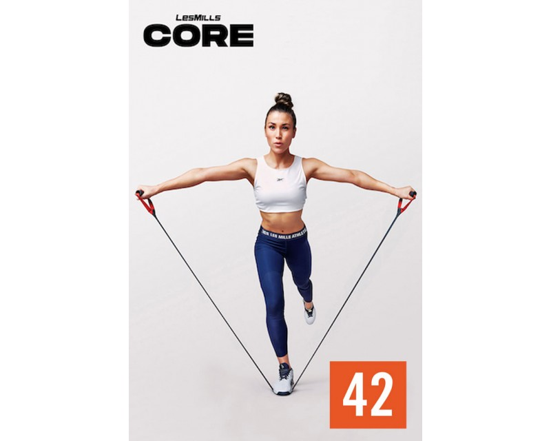[Pre Sale]LesMills Q2 2021 Routines CORE 42 releases New Release DVD, CD & Notes