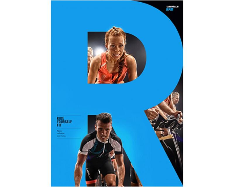 [Pre Sale]LesMills Routines RPM 88 New Release RPM88 DVD, CD & Notes