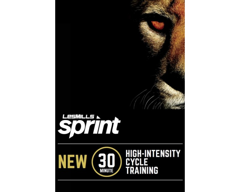 [Pre Sale]2019 Q4 LesMills Routines SPRINT 18 DVD + CD+ waveform graph