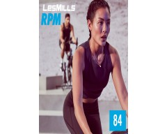 [Hot Sale]2019 Q3 LesMills Routines RPM 84 DVD + CD + NOTES