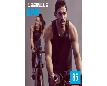 [Hot Sale]2019 Q4 LesMills Routines RPM 85 DVD CD &Notes