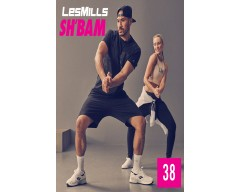[Hot Sale]LesMills SH BAM 38 New Release 38 DVD, CD & Notes