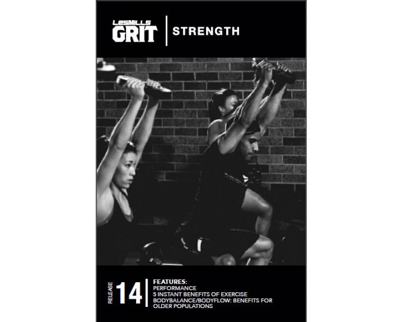 GRIT Strength 14 DVD + CD+ waveform graph