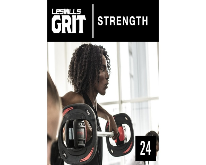 2018 Q1 Routines GRIT Strength 24 DVD + CD+ waveform graph