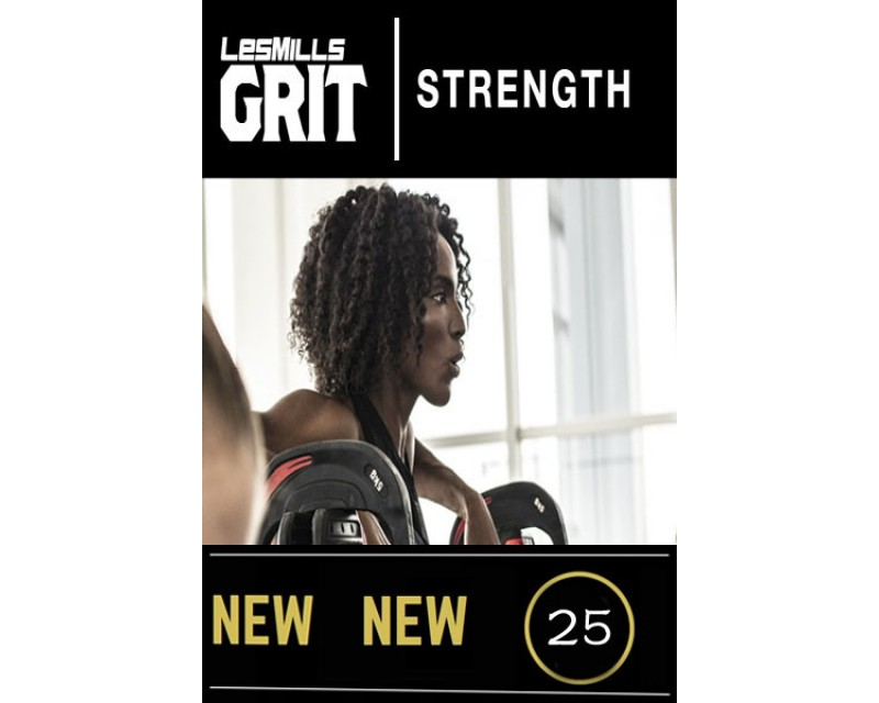 2018 Q2 Routines GRIT Strength 25 DVD + CD+ waveform graph