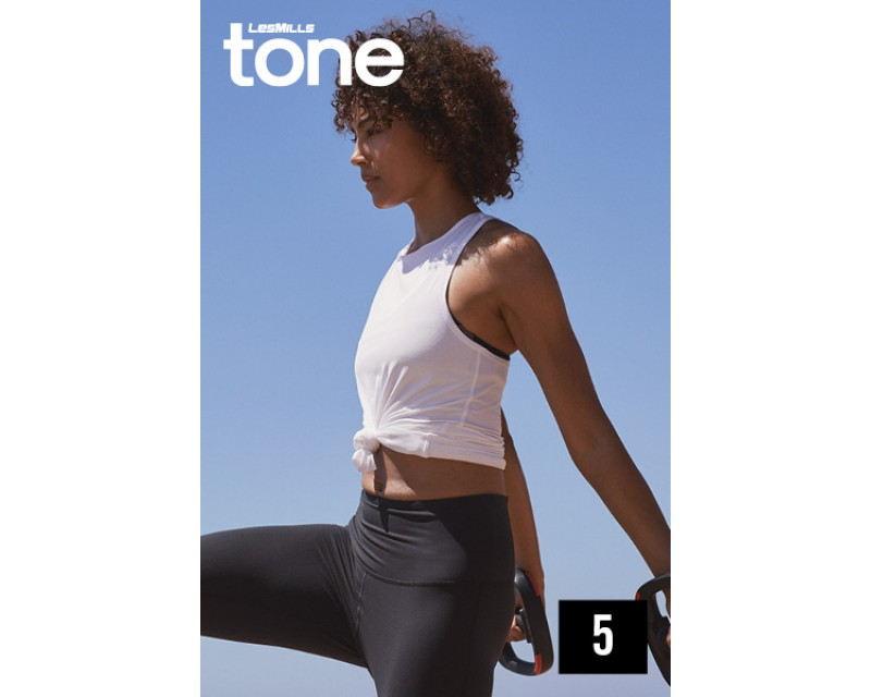 2019 Q1 LESMILLS TONE 05 DVD + CD + waveform graph
