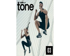 2018 Q3 LESMILLS TONE 03 DVD + CD + waveform graph