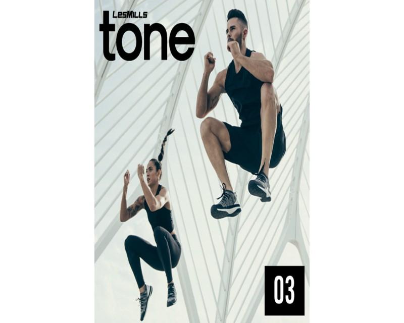 [Hot Sale]2018 Q3 LESMILLS TONE 03 DVD + CD + waveform graph