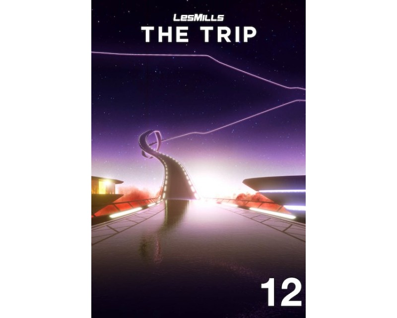 [Hot Sale]2017 Q4 LesMills Routines THE TRIP 12 DVD+CD+NOTES