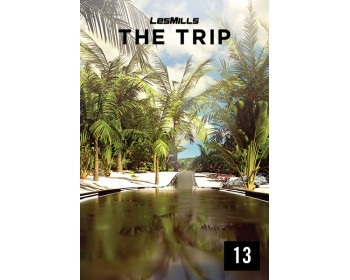 [Hot Sale]2018 Q1 LesMills Routines THE TRIP 13 DVD+CD+NOTES