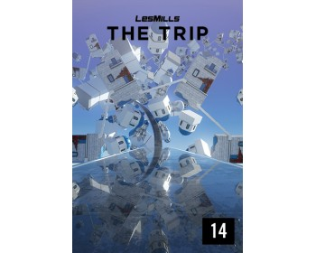 [Hot Sale]2018 Q2 LesMills Routines THE TRIP 14 DVD+CD+NOTES