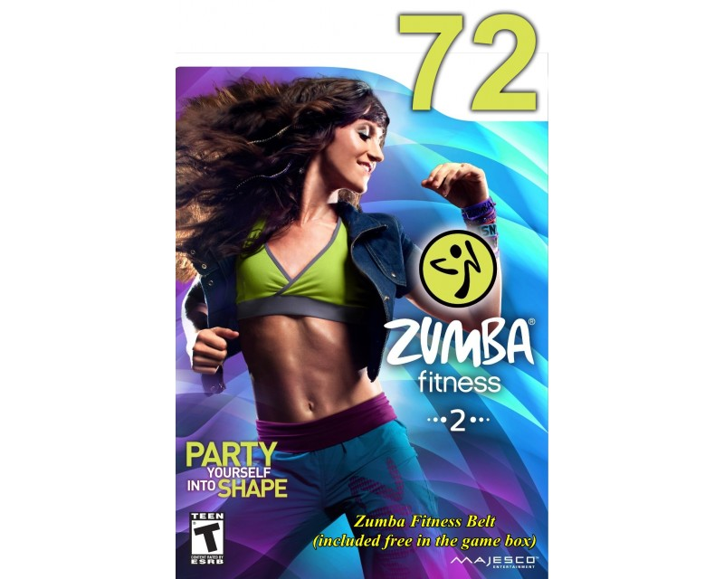 [Hot Sale]2018 New dance courses ZIN ZUMBA 72 HD DVD+CD