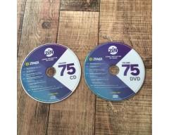 [Hot Sale]2018 New dance courses ZIN ZUMBA 75 HD DVD+CD