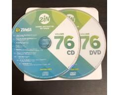 [Hot Sale]2018 New dance courses ZIN ZUMBA 76 HD DVD+CD