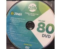 [Hot Sale]2018 New dance courses ZIN ZUMBA 80 HD DVD+CD