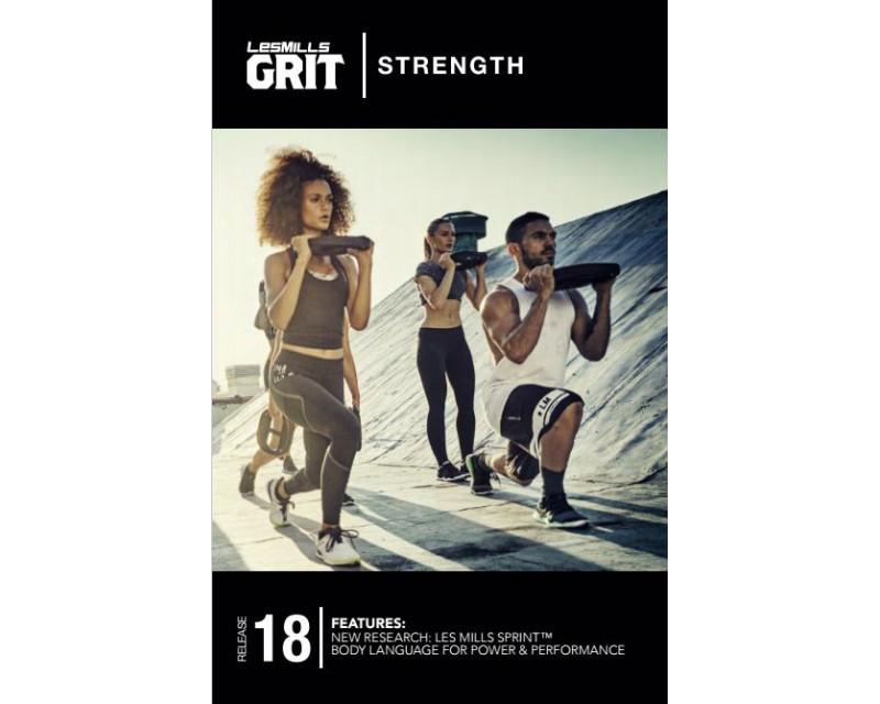GRIT Strength 18 DVD + CD+ waveform graph