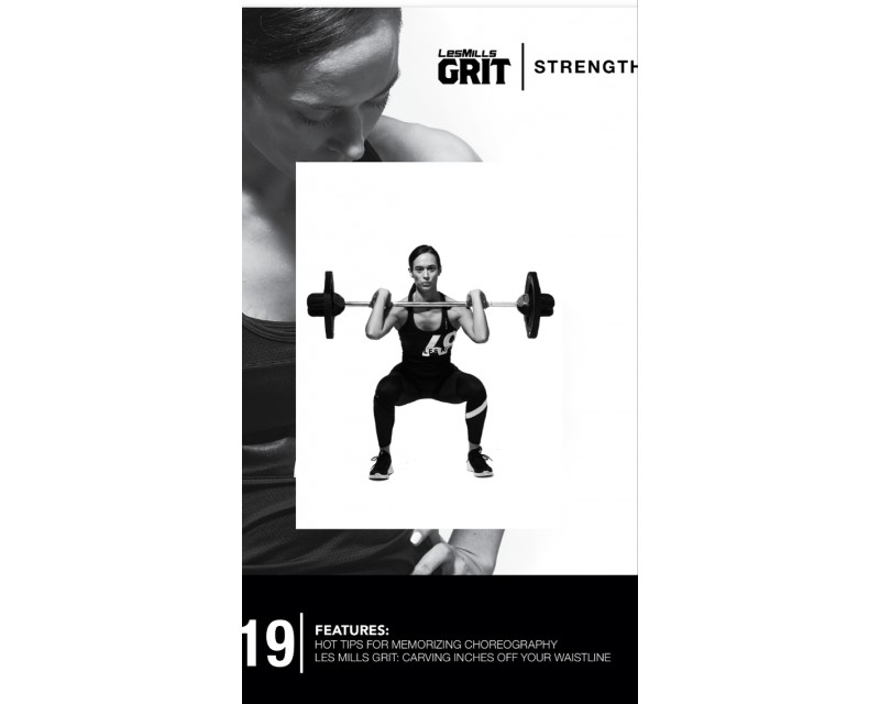 GRIT Strength 19 DVD + CD+ waveform graph
