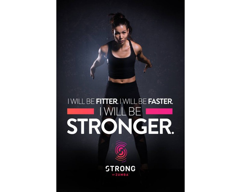 [Hot Sale] 2019 New Course Strong By Zumba Vol.10 HD DVD+CD