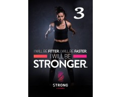 [Hot Sale] 2018 New Course Strong By Zumba Vol.03 HD DVD+CD