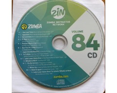 [Hot Sale]2019 New Release ZIN ZUMBA 84 DVD&CD