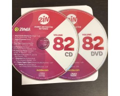 [Hot Sale]2019 New dance courses ZIN ZUMBA 82 HD DVD+CD